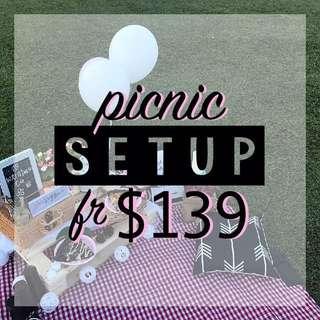 PROMO - Picnic Setup Service