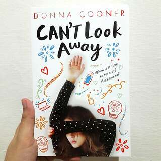 NOVEL: CAN'T LOOK AWAY by Donna Cooner