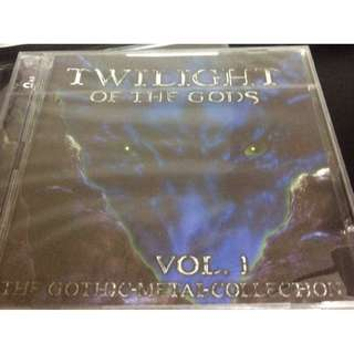 Sealed mint twilight of the gods gothic 2 cd compil cd new metal rock indust