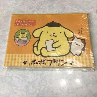 Sanrio 布甸狗 B5 Paper