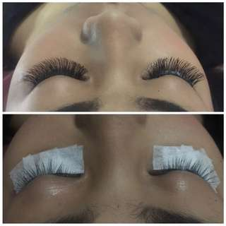 Eyelash extention tanam bulu mata