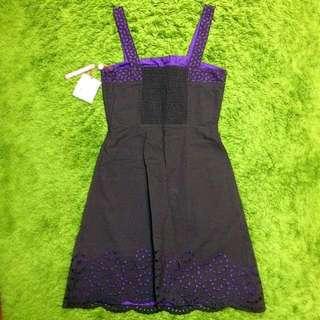 Lella Dress in Dark Brown