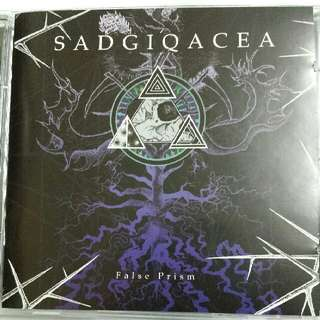 Music CD (Metal): Sadgiqacea ‎– False Prism - Doom Metal, Sludge Metal, Stoner Rock