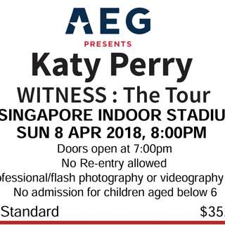 Katy Perry Witness: The Tour Singapore