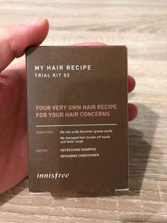 Innisfree My Hair Recipe Trial Kit 03