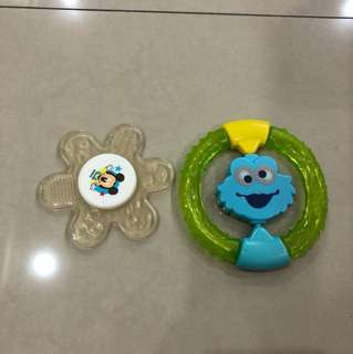 2 pcs Baby Teether