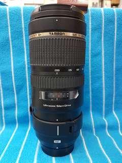 Tamron SP 70-200/2.8 Di VC Nikon