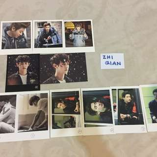 [READY STOCK] EXO CHANYEOL OFFICIAL POLAROID