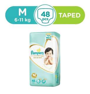 Pampers Premium Care Diapers M Tape