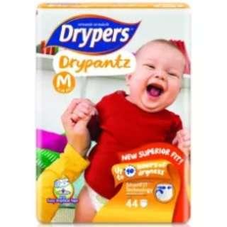 Drypers Drypantz M44 (4 pack) (7-12kg) 176pcs/box