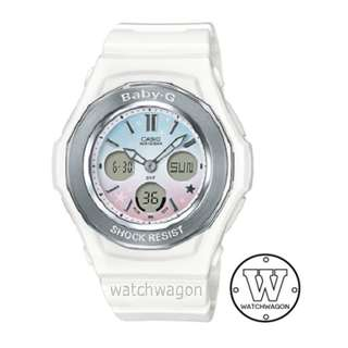 Brand New Casio Baby-G Star Series White BGA-100ST-7A  .   .    . bga-100