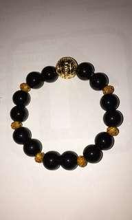 BR438 custom made Om Mani Padme Hum Bracelet