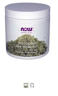 European Clay Powder Pure facial detox