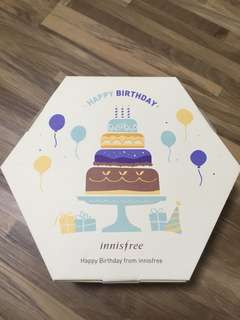 Innisfree birthday kit 2018