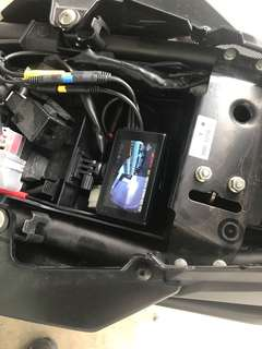 Lookout v3+ with WiFi for Yamaha MT09