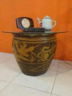 Antique Dragon Pot