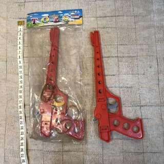 早期玩具槍 橡皮筋槍  發射槍