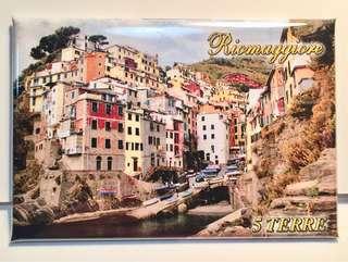 Riomaggiore, Cinque Terre, Italy ref magnet