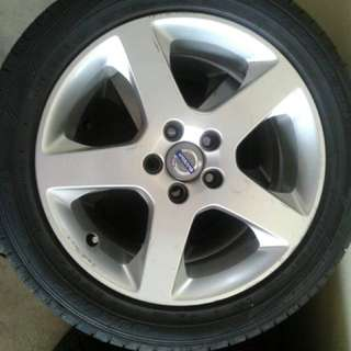 "Sportrim volvo 17"" with tyre"