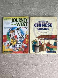 Asiapac Comic Journey to the West & Origins of Chinese Cuisine