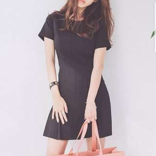 Black dress for office wear