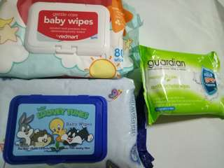 BN wet wipes (gentle care/looney/guardian)