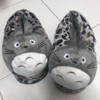 可愛龍貓拖鞋 (全新)