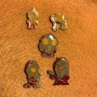 襟章pin 鹹蛋超人