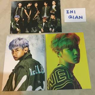 [READY STOCK] EXO CHANYEOL POWER POSTCARD SET