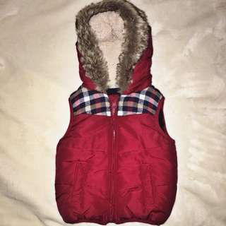 F&F Vest with fur