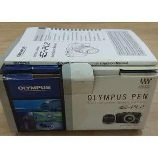 Olympus E-PL2 body + lens 14-42mm