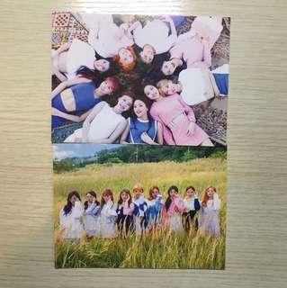 Twice TT 官方post card