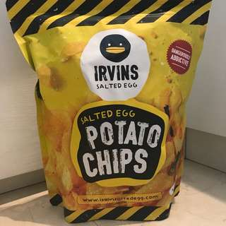 Irvins Salted Egg Potato Chips 230gr