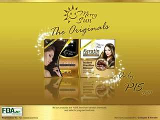 Keratin and collagen 15 each