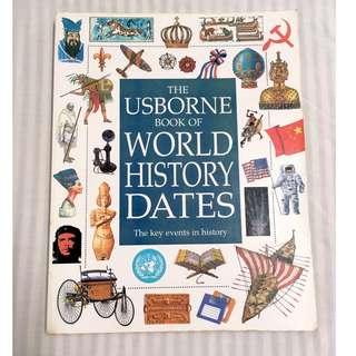 The Usborne Book of World History 兒童世界歷史書