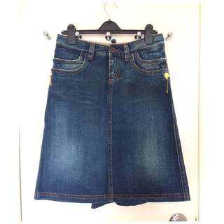 Dsquared2  demin skirt   牛仔裙   ~Size 42  ~Made in Italy  @