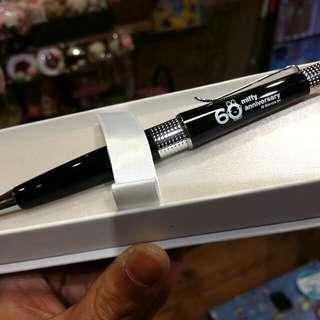 100% 原裝 日本限定 Miffy 兔 60 周年版 anniversary Cross 原子筆 Ballpen 黑色