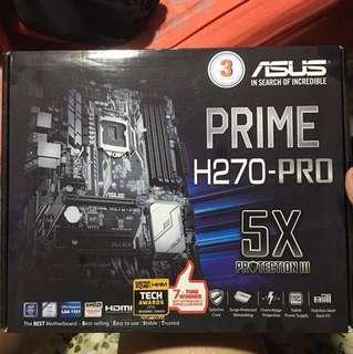 I5-7600 + Prime H270-Pro