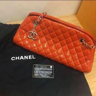 (大降價!)Chanel 香奈兒 花邊教主同款 鮮紅肩背包
