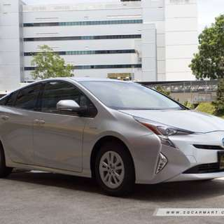 Brand New Prius Hybrid for Uber and Grab