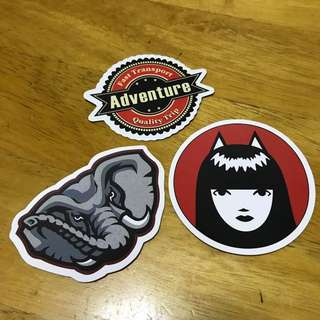 [NEW] Luggage Stickers / Laptop Stickers