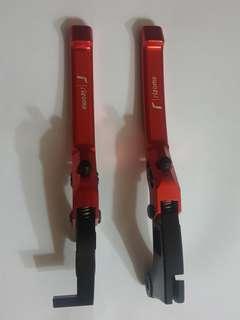 Honda RS150 rizoma brake & clutch lever (red)