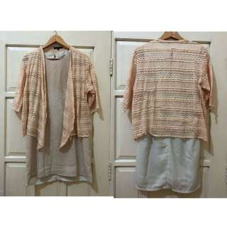 Brukat pink outer