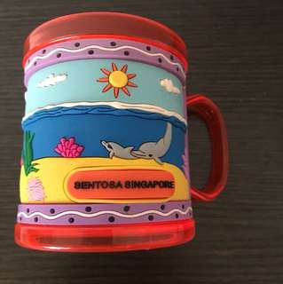 Sentosa Singapore Cup / Mug Souvenir for Kids Children (U.P. $5.90)