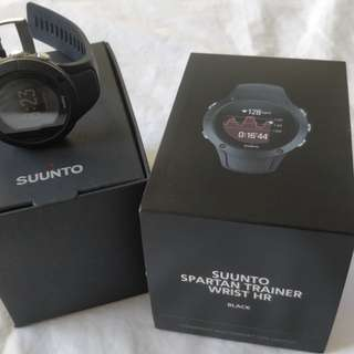 Almost new Suunto Spartan Trainer