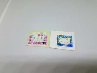 日本 已用 sanrio hello kitty 郵票