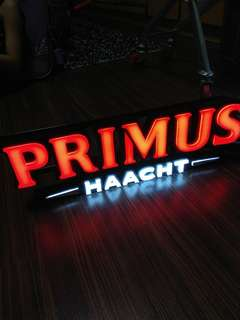 Primus Lager Neon Advertising Light