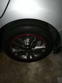 Hyundai Rims / Tyres