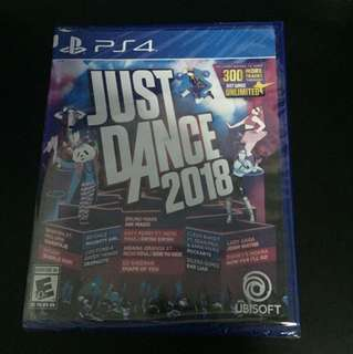 PS4 Just Dance 2018 (New Sealed)