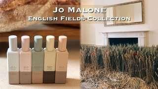 Jo Malone 2018 English Fields Collection 30ml